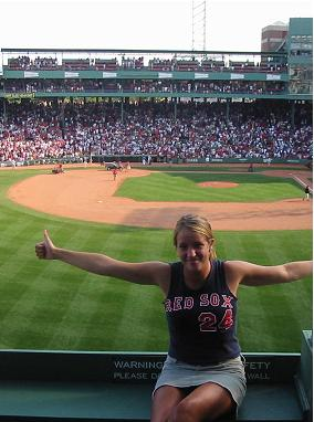 Front Row Green Monster